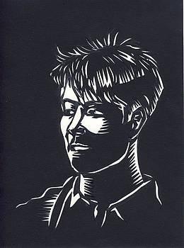 Alfred Ng - paper cut portrait