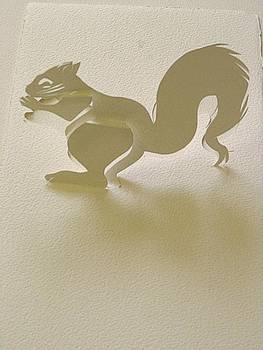 Alfred Ng - paper squirrel