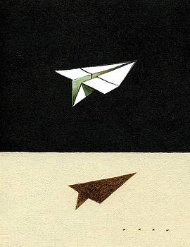 Paperplane by Kazu Nitta