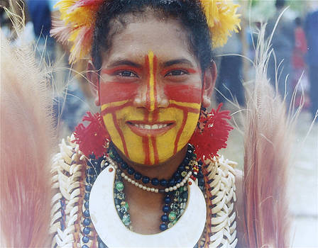 Papua New Guinea Girl by Carol Tsiatsios