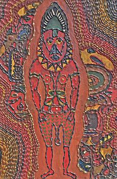 Papua New Guinea Man by Carol Tsiatsios