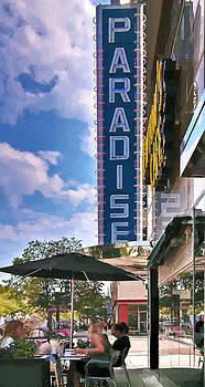 Paradise Cafe by John Hix
