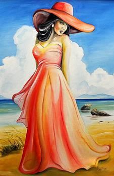 Paradise In Orange by Henry Blackmon