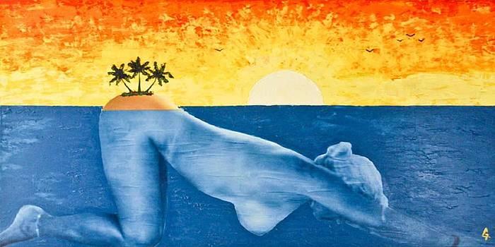 Paradise Island by Maria Iurescia