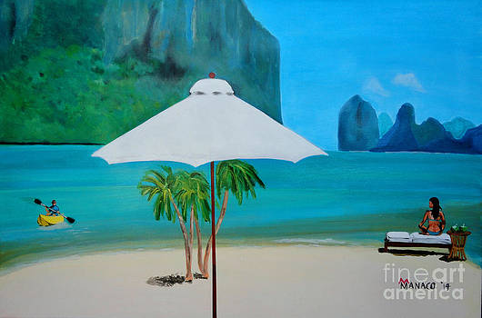 Paradise Palawan by Ferdz Manaco