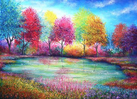 Paradise Pond by Ann Marie Bone