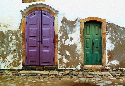 Paraty Doors by Tony Franza