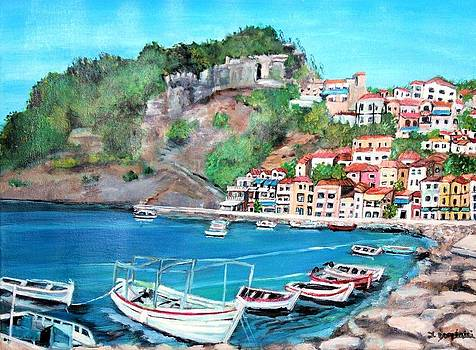 Parga in Greece by Teresa Dominici