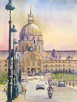 Paris by Antonio Bartolo
