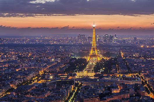 Paris by night by Andrey Trifonov