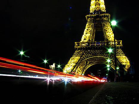 Paris by Night by Lisa Chorny