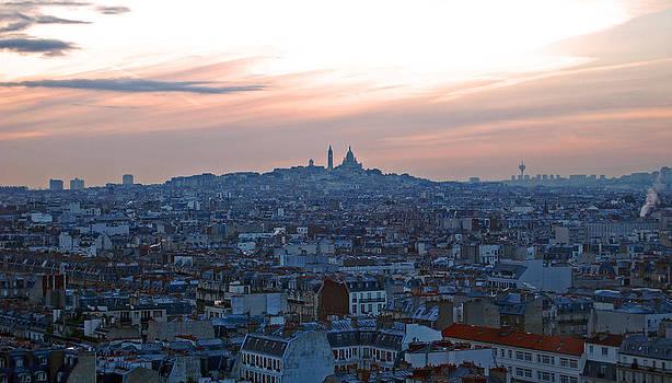 Paris City of Love II by Eric Keesen