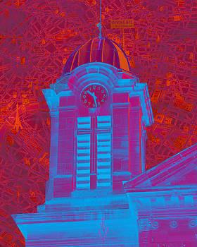 Paris Clock Tower II by Donine Wellman