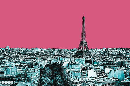 Paris Delineated by Matthias Flynn