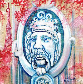 Paris Door Knocker by Bonnie Sprung