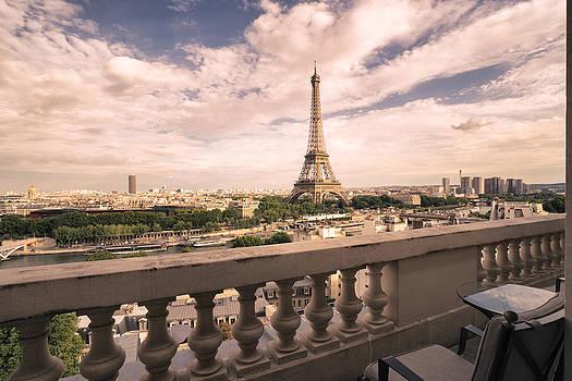 Paris - Eiffel Tower by Vivienne Gucwa