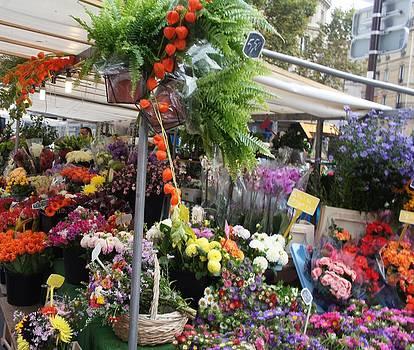 Paris Flower Market by Kristine Bogdanovich