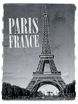 Paris France Retro by Ron Sumners