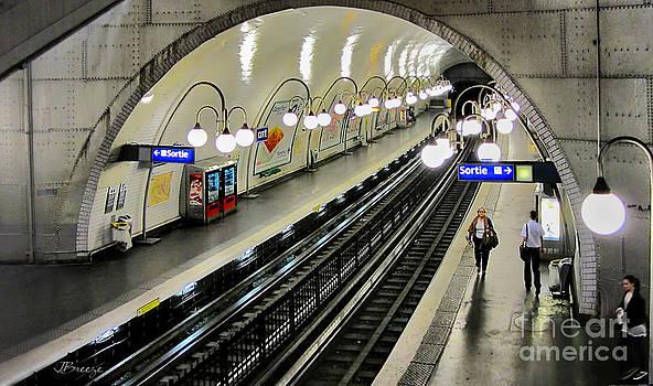 Paris Metro by Jennie Breeze