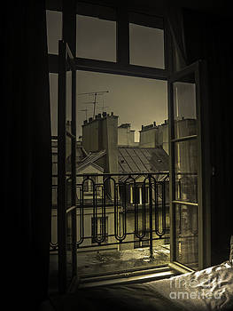 Paris open window by Brian R Tolbert