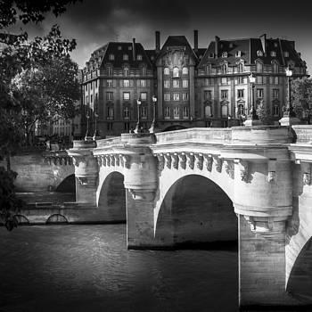 Paris Pont Neuf by S J Bryant