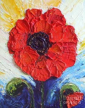 Paris' Red Poppy by Paris Wyatt Llanso