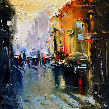Paris street by David Figielek