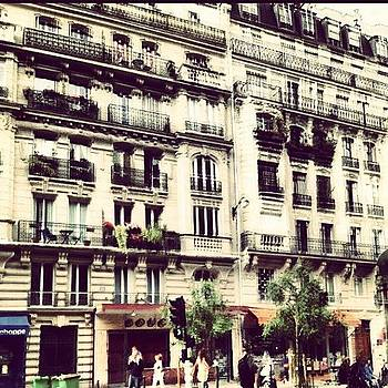 Parisian Building by Danielle McComb