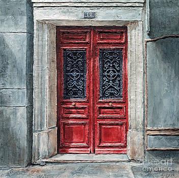 Parisian Door No. 12 by Joey Agbayani