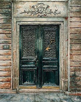 Parisian Door No. 188 by Joey Agbayani