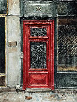 Parisian Door No.28-2 by Joey Agbayani