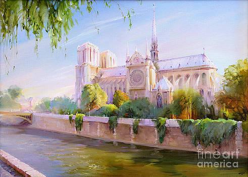 Parisian morning by Roman Romanov