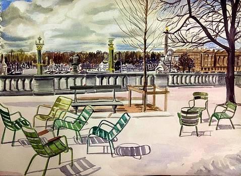 Aditi Bhatt - Parisian summer