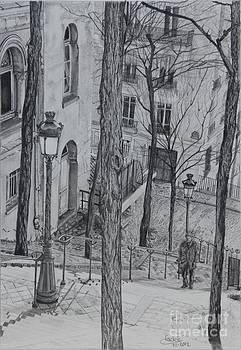 Parisienne Walkways by Jackie Mestrom