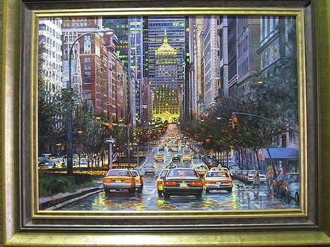 Park Avenue NY by Min Li