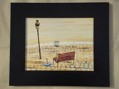 Park Bench by Harold Messler