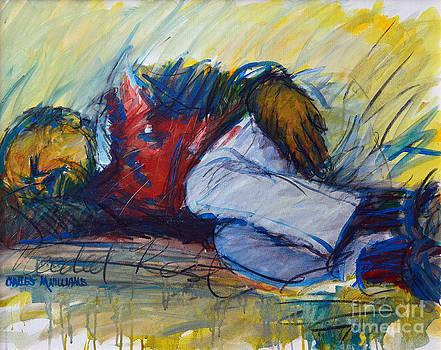Charles M Williams - Park Bench Sleeper
