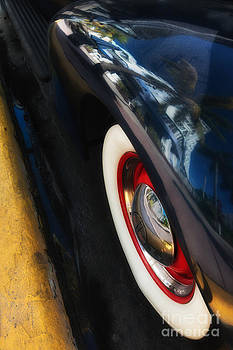 Ian Monk - Park Central Hotel Reflection on Oldsmobile Wing - South Beach - Miami