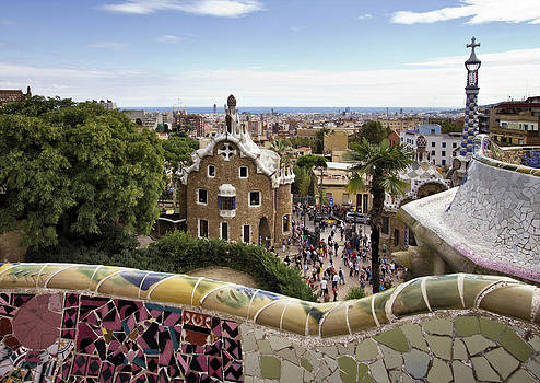 Park Guell by Yelena Rozov