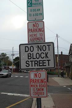Parking dilemma by Martin Fried MD