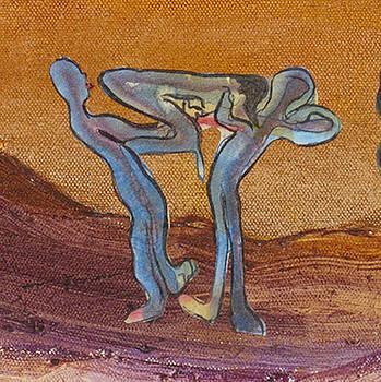 Les acrobates by Bernard RENOT