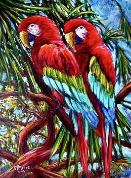 Parrot Pals by Sebastian Pierre