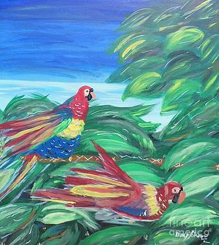 Parrots in Paradise by Bobbi Groves