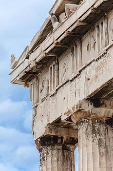 Parthenon pediment by Yevgeni Kacnelson