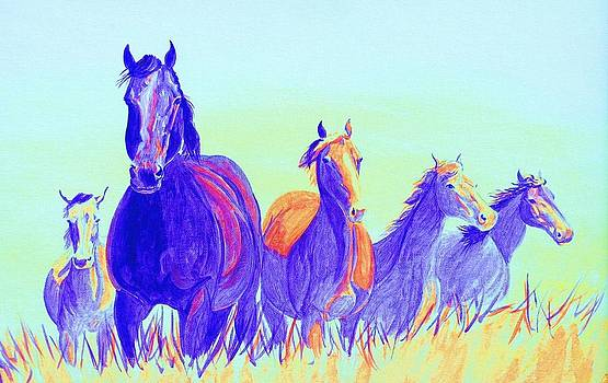 Party Horses by Cynthia Sampson