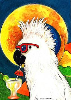 Party Parrot 1 by Melodye Whitaker