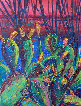 Party Prickly Pear by Lee Ann Newsom