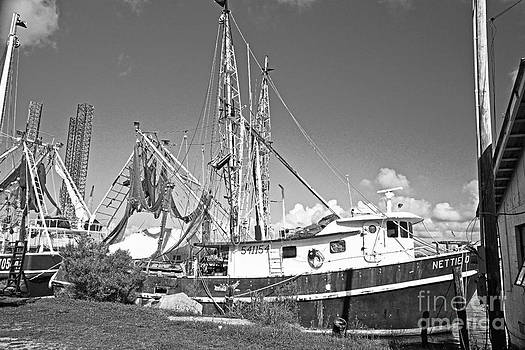 Pascagoula shrimp boat by Russell Christie