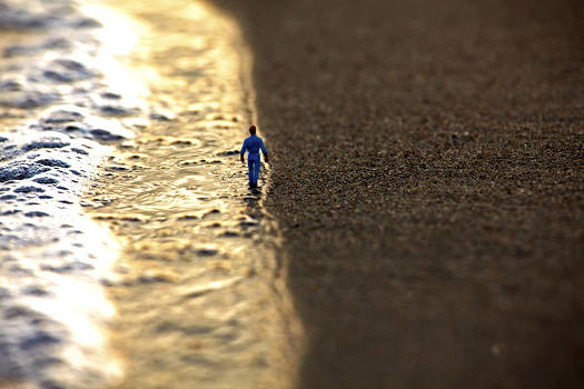 Passeggiata al tramonto by Toni Polinni