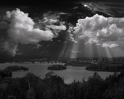 Passing Storm - Castine ME by Michael Berry